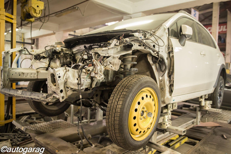 Восстановление автомобиля после ДТП в ЮВАО