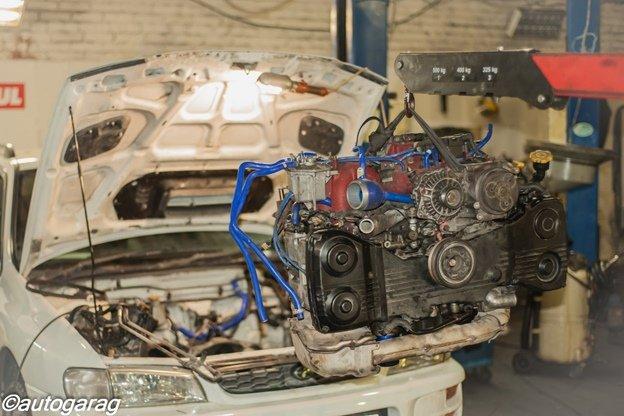 Ремонт двигателя Субару в Москве