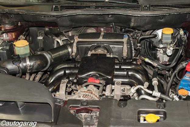 после мойки двигателя