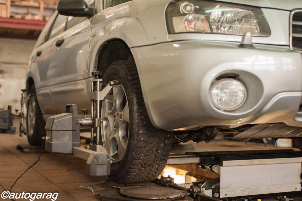 Рулевое управление и сход-развал