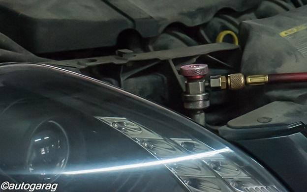 Диагностика кондиционера автомобиля и заправка кондиционера