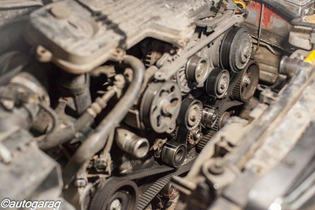 Замена ремня ГРМ Subaru
