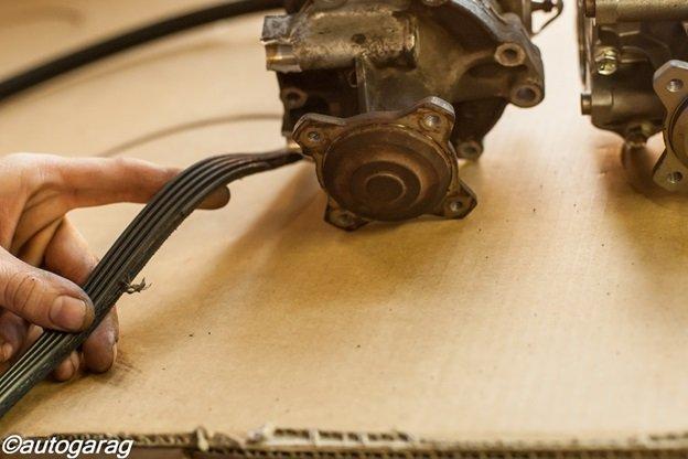 Замена насоса охлаждения Suzuki Grand Vitara New 2.0