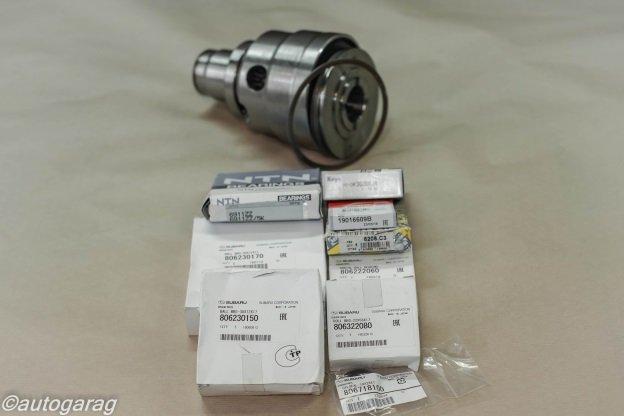 Ремонт полного привода МКПП Subaru