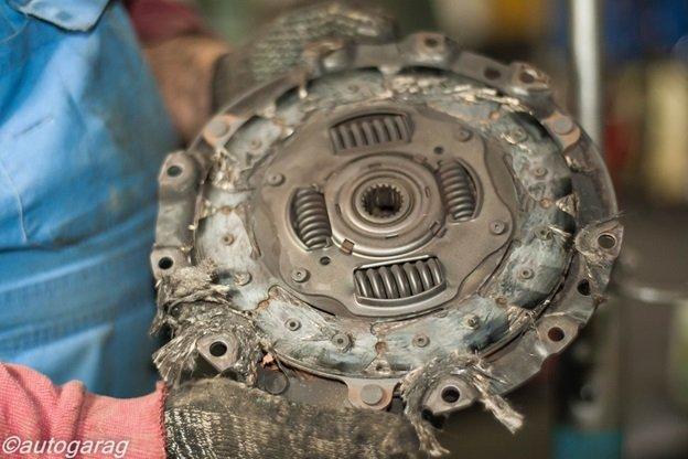 Замена сцепления Suzuki SX4