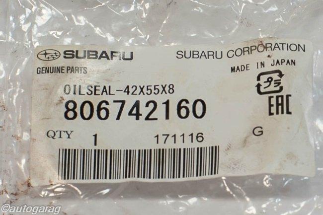 Оригинальные запчасти Subaru