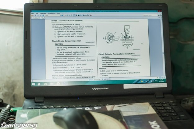 Адаптация роботизированной кпп Suzuki Swift