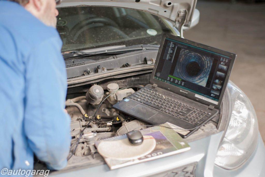 Проверка и диагностика двигателя эндоскопом в ЮВАО