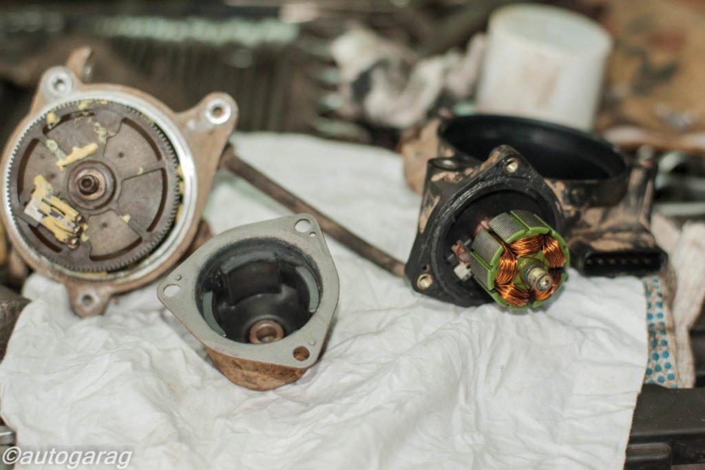 Ремонт актуатора включения 4WD Джимни