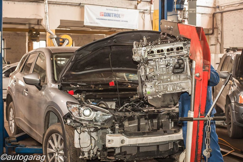 Техническое обслуживание авто Мазда (Mazda)
