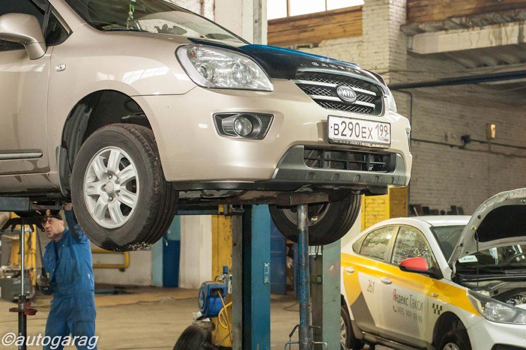 Техническое обслуживание автомобилей Киа (Kia)
