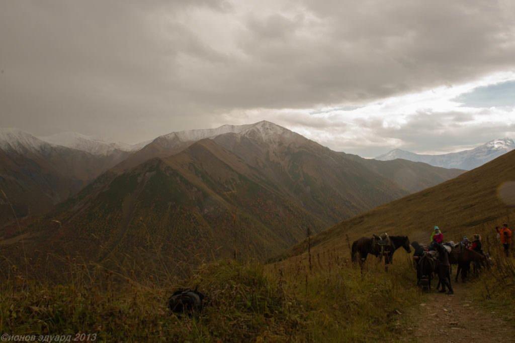 Фото гор Сванетии