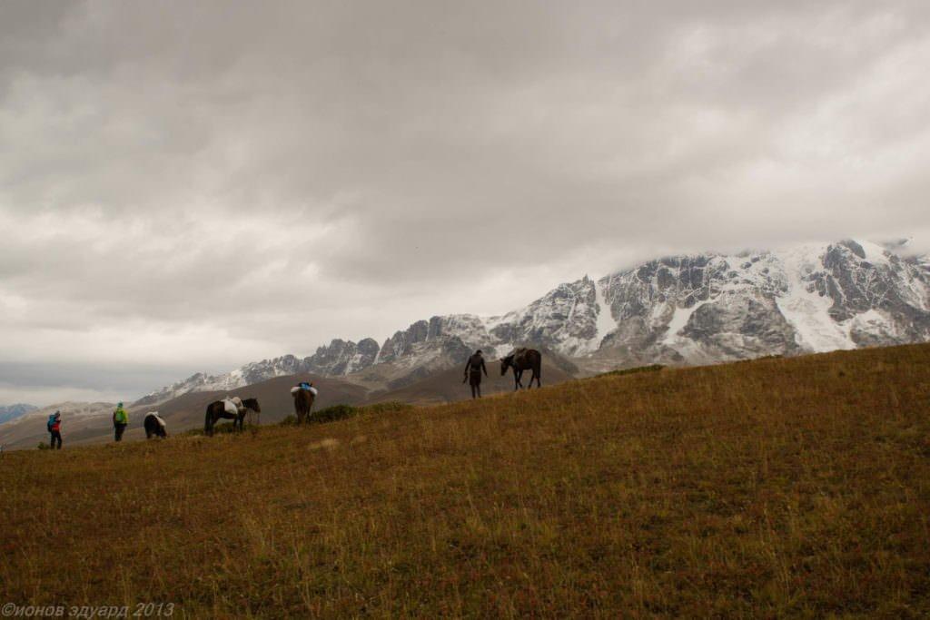 Пейзаж. Фото гор Сванетии