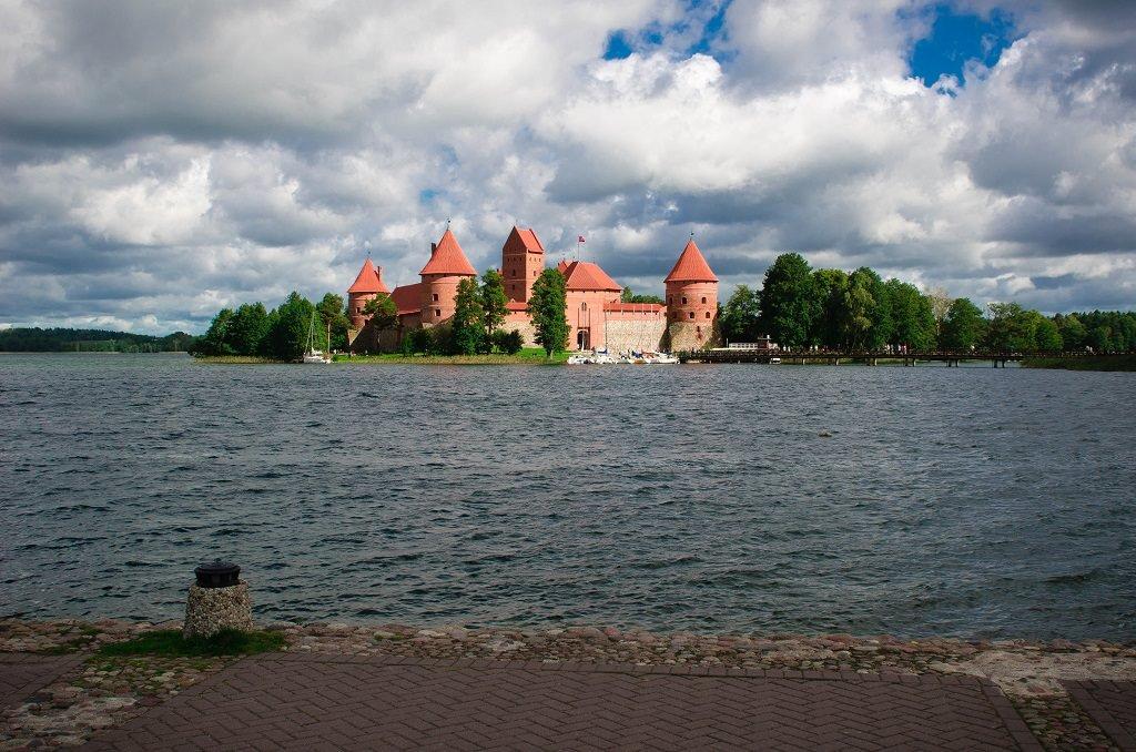 Тракайский замок Друскининкай